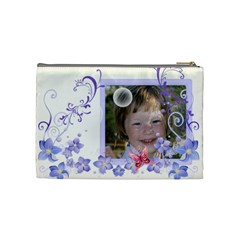 Flower Kids By Wood Johnson   Cosmetic Bag (medium)   4q0vqxijenyg   Www Artscow Com Back
