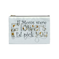 Mothers Day Cosmetic Bag By Catvinnat Front