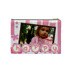 Girl By Wood Johnson   Cosmetic Bag (medium)   Ku00nbntcjrd   Www Artscow Com Back