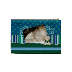 New Baby By Brookieadkins Yahoo Com   Cosmetic Bag (medium)   Kroka93soppy   Www Artscow Com Back
