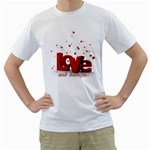love and diabetes White T-Shirt