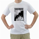 LAZAURS AND THE RICH MAN White T-Shirt