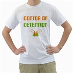 center fo detention White T-Shirt