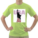 USA Green T-Shirt