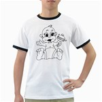 cartoon Ringer T