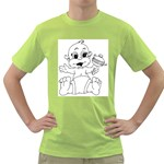cartoon Green T-Shirt