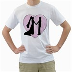 bride groom White T-Shirt