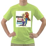 chicks Green T-Shirt