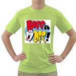 cartoonlogo42 Green T-Shirt