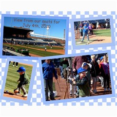 Durham Ball Park 2 Collage Photos By William B Loomis Jr   Collage 8  X 10    C37x7t4zvhhw   Www Artscow Com 10 x8  Print - 5