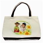 Flower Bag - Basic Tote Bag