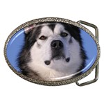 Alaskan Malamute Dog Belt Buckle