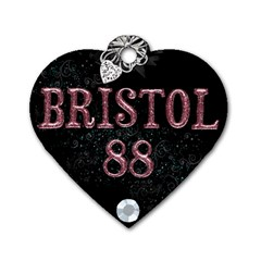 Bristol Tag By Lily Hamilton   Dog Tag Heart (two Sides)   0gakjoow1vil   Www Artscow Com Back