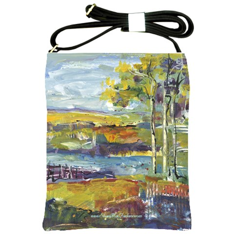 River Bend By Alana   Shoulder Sling Bag   5iv4ajr81ipf   Www Artscow Com Front