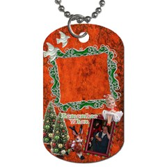 Christmases By Ellan   Dog Tag (two Sides)   6z8vntnvkv43   Www Artscow Com Front