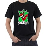 Be Different! Black T-Shirt (Two Sides)