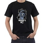 Waz n t ME! Black T-Shirt (Two Sides)