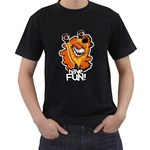 Have FUN! Black T-Shirt Black T-Shirt (Two Sides)