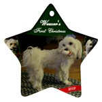 WEEZER s First Christmas - Ornament (Star)