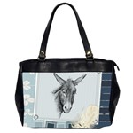 Donkey 3 Oversize Office Handbag (Two Sides)