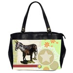 Jennyfoal Oversize Office Handbag (Two Sides)