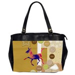 Funny Donkey Oversize Office Handbag (Two Sides)