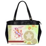 Herald Donkey Oversize Office Handbag (Two Sides)
