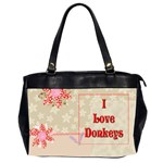 Love Donks Oversize Office Handbag (Two Sides)