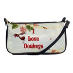 Love Donks Shoulder Clutch Bag
