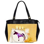 Swirl donk Oversize Office Handbag (Two Sides)