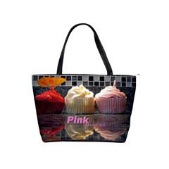 Alana Loves Cupcakes Shoulder Bag By Catvinnat   Classic Shoulder Handbag   L41fn92wghhw   Www Artscow Com Front