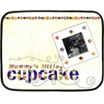 Mummy s little Cupcake Mini Fleece - Mini Fleece Blanket