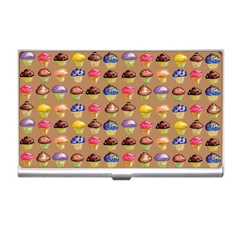 Gimme Cupcakes! By Alana   Business Card Holder   T0cokh0q894z   Www Artscow Com Front