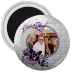 Lavender Blush magnet - 3  Magnet