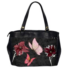 Butterfly By Amarilloyankee   Oversize Office Handbag (2 Sides)   B1khjt1xv0hr   Www Artscow Com Back