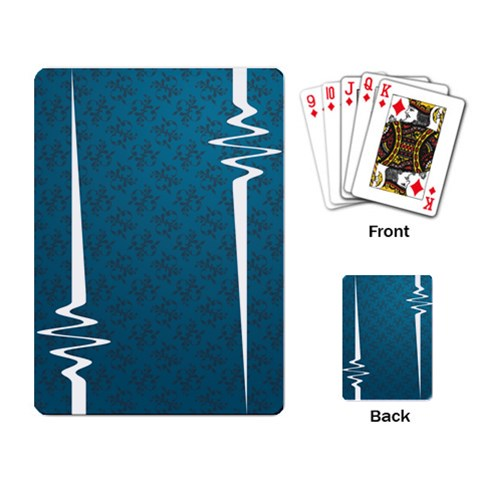 Scintilla Cards Blue By Matthijs   Playing Cards Single Design   F83n2mx1ckj6   Www Artscow Com Back