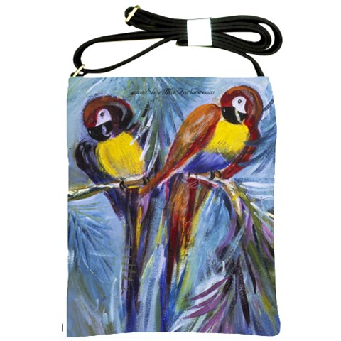 Let s Talk By Alana   Shoulder Sling Bag   N89be01cju1k   Www Artscow Com Front