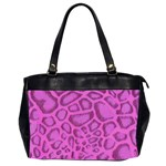purple python oversize bag - Oversize Office Handbag (Two Sides)