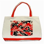 red  camo tote - Classic Tote Bag (Red)