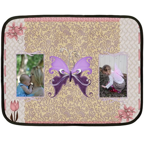 Sweet Baby Spread By Alana   Fleece Blanket (mini)   1mf0r6o1xy4y   Www Artscow Com 35 x27 Blanket