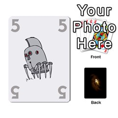 Alien By Matteo   Playing Cards 54 Designs   1ak43q65q13v   Www Artscow Com Front - Heart2