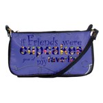 Friend shoulder clutch - Shoulder Clutch Bag