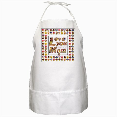 Mothers Day Apron 2 By Catvinnat   Bbq Apron   Ab4mu9c6iqp4   Www Artscow Com Front