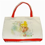 Flower baby - Classic Tote Bag (Red)