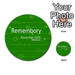 Remembory_Mexico - Multi-purpose Cards (Round)