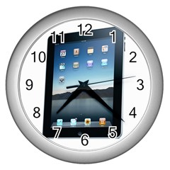 iPad Wall Clock (Silver) by ipadmerchandise