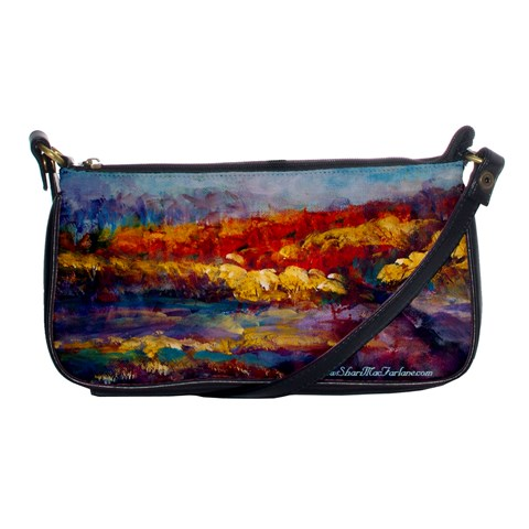 Autumn On The Horizon By Alana   Shoulder Clutch Bag   Ioq2oubfw7uy   Www Artscow Com Front