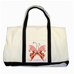 Basic Butterfly Bag - Two Tone Tote Bag