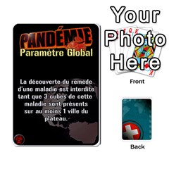 King Pandémie   Menace Niveau 6 (v2) By Whisper   Playing Cards 54 Designs   Dxnl4z2w43bw   Www Artscow Com Front - SpadeK