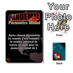 Pandémie   Menace Niveau 6 (v2) By Whisper   Playing Cards 54 Designs   Dxnl4z2w43bw   Www Artscow Com Front - Heart8